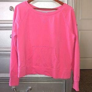Champion Double Dry Pink Sweatshirt Size Large